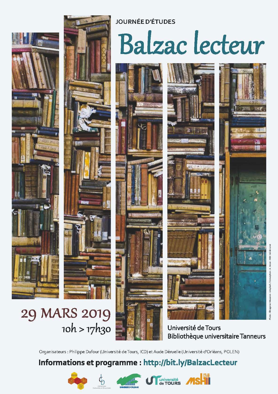 Journée d'études Balzac lecteur